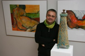Frank Steebeck in Galerie Zimmer