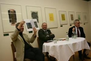 Jürgen Winter, Thomas T. Müller und Dr. Rolf Luihn (v.l.).