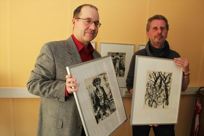 Dr. Michael Scholl und jürgen winter